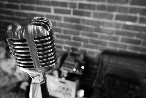 A Vintage Microphone | by Holmes Palacios Jr.