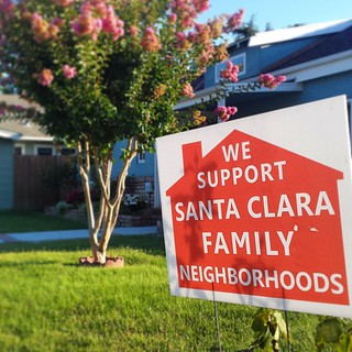 NIMBY in Santa Clara.   #nimby #rer #santaclara #sign #yard | by Richard Masoner / Cyclelicious