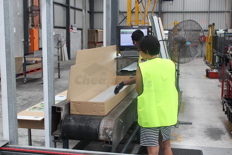 Spanbilt factory- packing