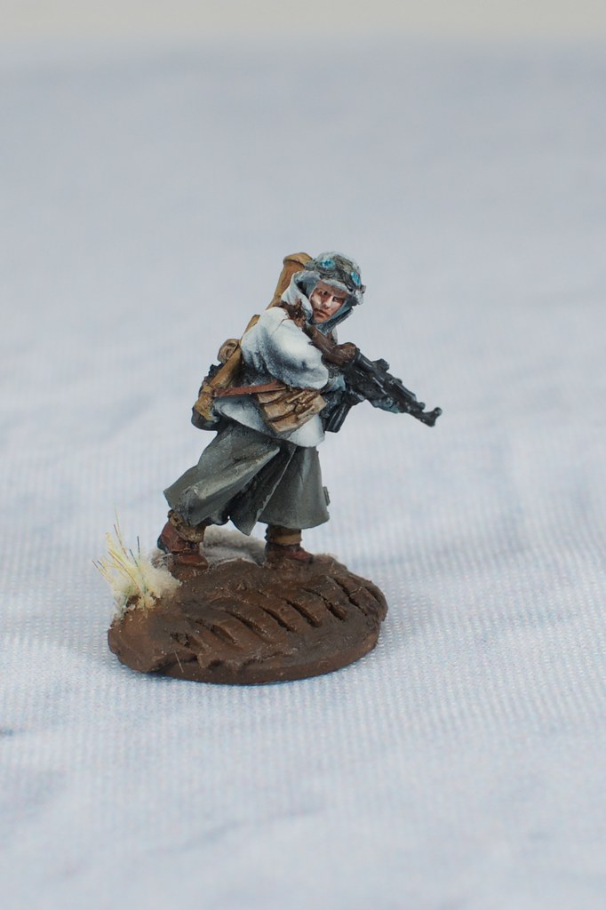 Grenadier with assault rifle