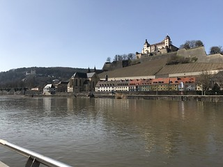 Wurzburg, view of Marien Fortress