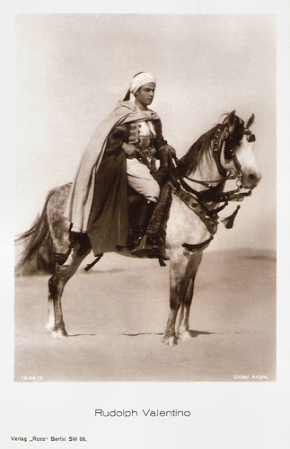 Rudolph Valentino in The Son of the Sheik (1926)