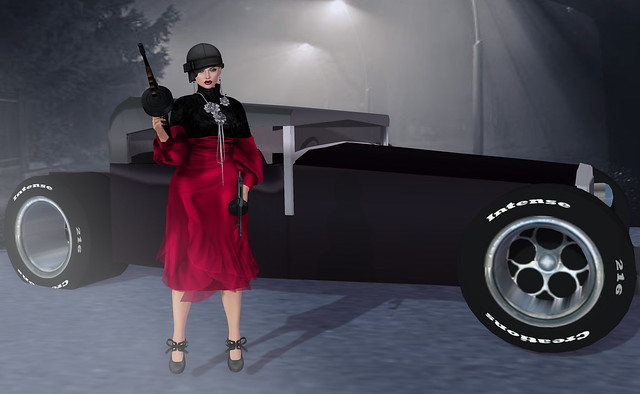 Zaria, ruby Azul + Gangster Wheels Pose, Something New-props n poses