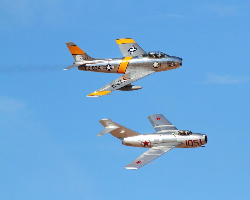 IMG_7311 F-86 vs Mig-15