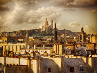 Paris Rooftops by Bob Rottenberg | by cameraclub231