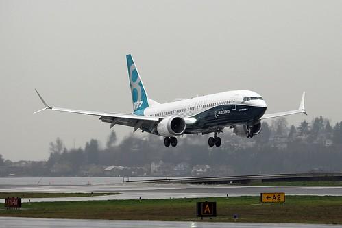Boeing 737 MAX 8 Boeing Company N8704Q