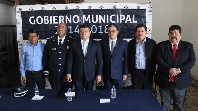 ES PRESENTADO EL NUEVO TITULAR DE LA COMISARÍA DE SEGURIDAD PÚBLICA DE HUAUCHINANGO