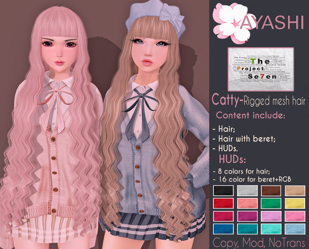 Catty hair special for The Project Se7en