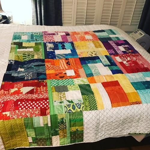 slab quilt for Serenity