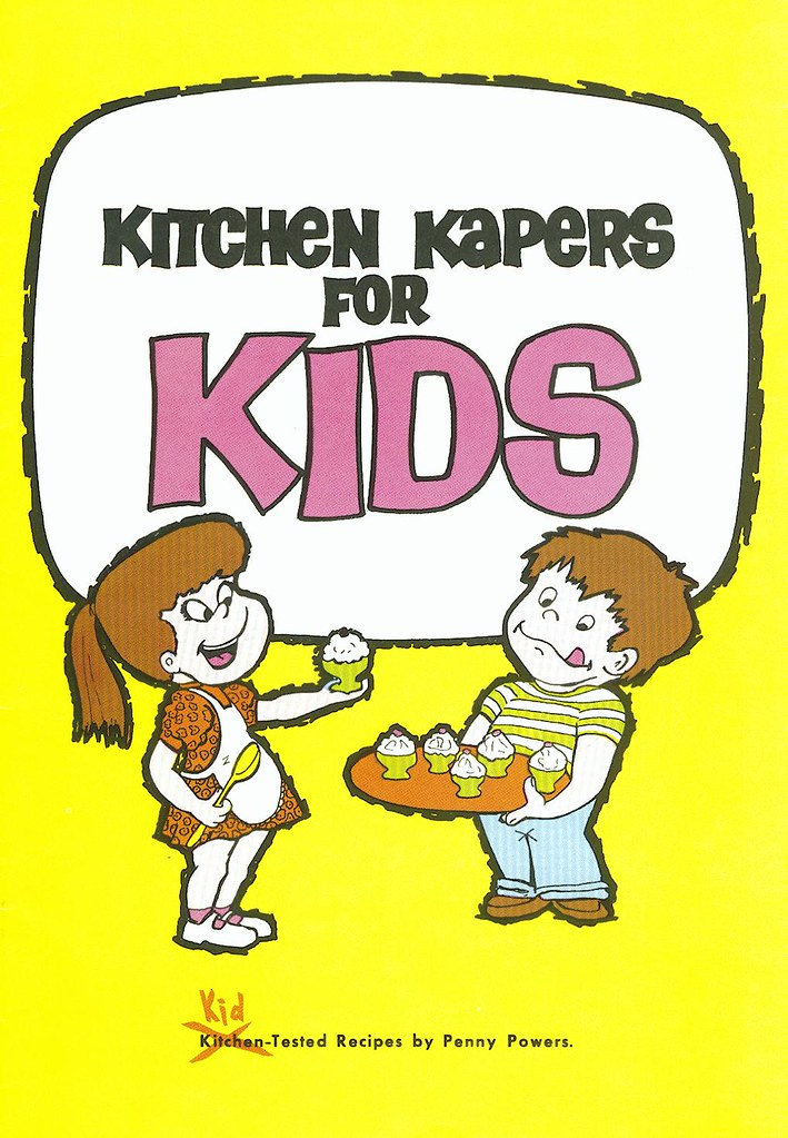 ... Kitchen Kapers For Kids Cookbook Cover | By SaskPower   Powering The  Future