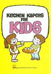 Kitchen Kapers For Kids Cookbook Cover | By SaskPower   Powering The Future  ...