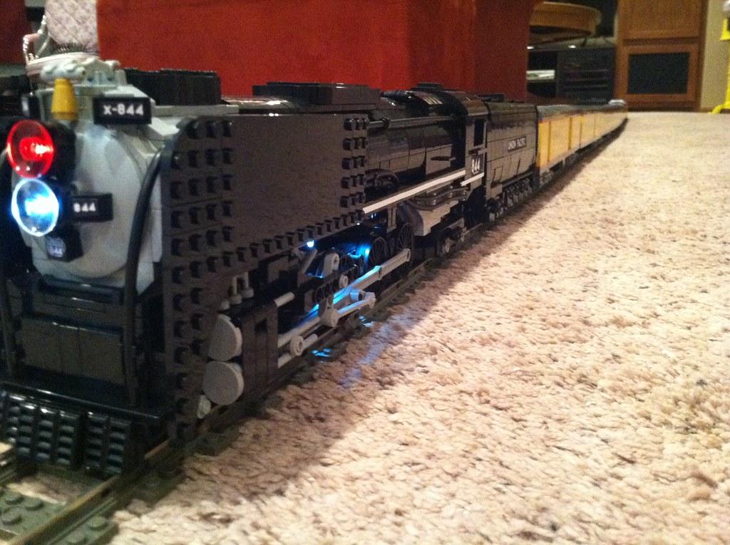lego union pacific 844 passenger train just a tease until flickr