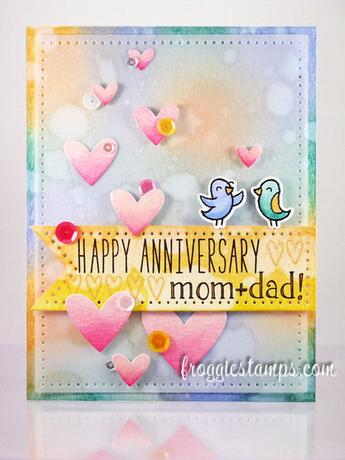 Happy anniversary mom and dad card with distress inks flickr happy anniversary mom and dad card with distress inks by froggiestamps m4hsunfo