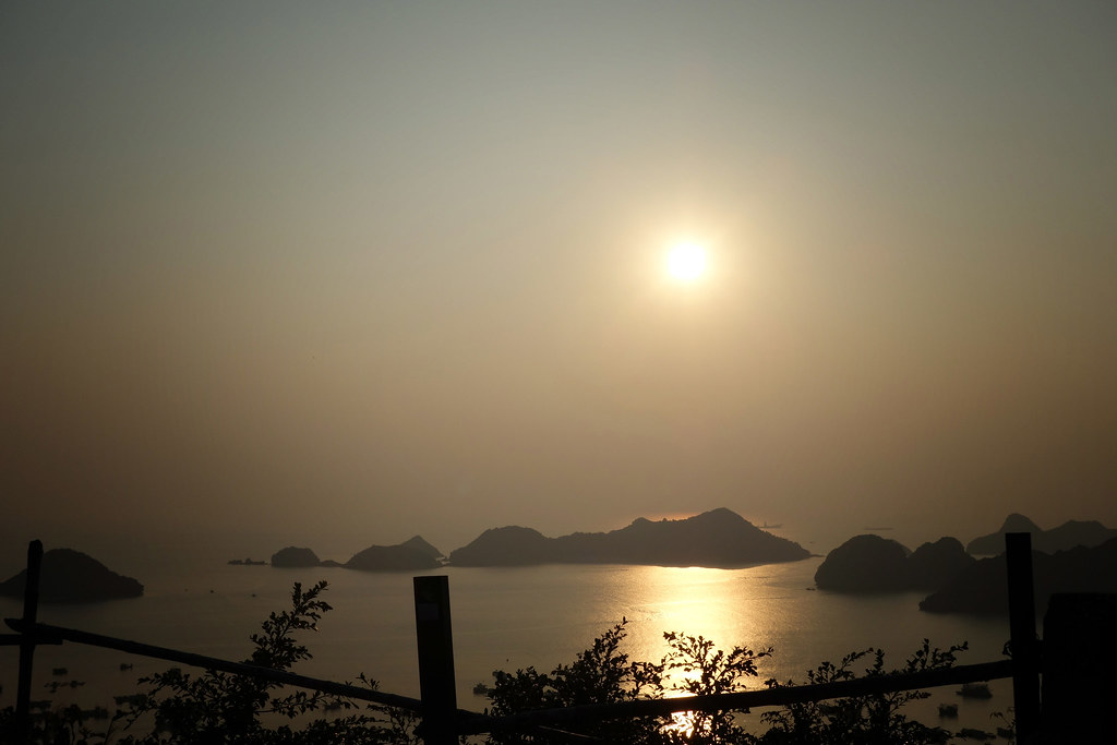 Cat Ba - Canon Fort - Sunset 2