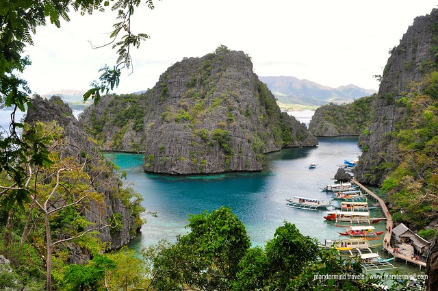 Signature Image at Kayangan Lake Coron