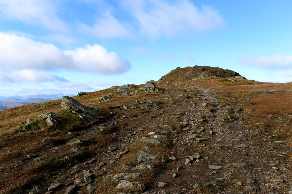 Summit ridge of Ben Ledi