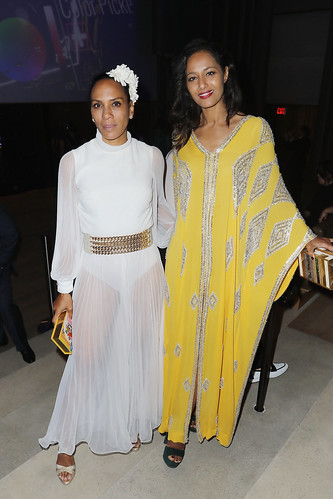 Barbara Becker and Rula Jebreal