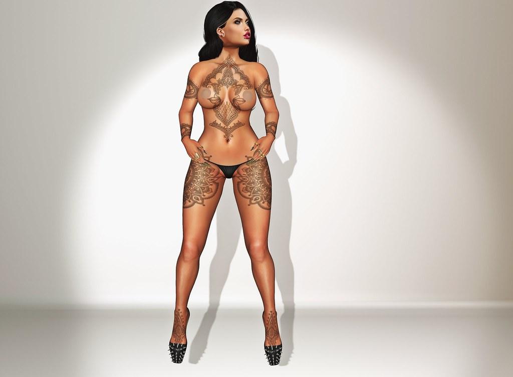 Suicide Gurls - Ailish Gacha Tattoo FGC
