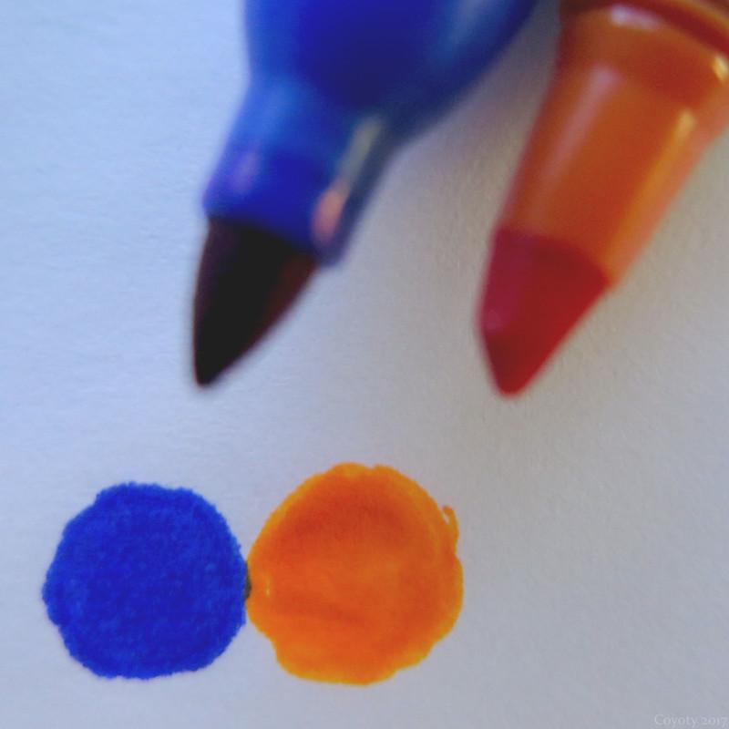 Synecdoche Orange and Blue