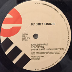 OL'DIRTY BASTARD:RETURN TO THE 36 CHAMBERS; THE DIRTY VERSION(LABEL SIDE-D)