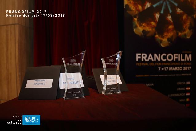 Francofilm 2017 - remise des prix