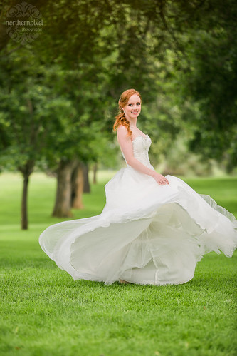 Bridal Gown - the Gallery Bridal Boutique in Prince George BC | by Dan Stanyer (Northern Pixel)