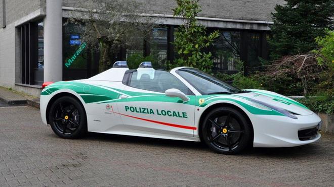 Ferrari 458 Spider Milan Police -1