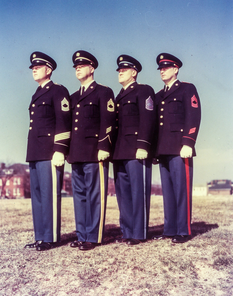 1953-02-09-Four Versions of proposed Army Dress Blue Unifo… | Flickr