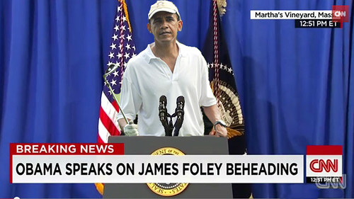 Obama Speaks on James Foley Beheading | by HitAndRun
