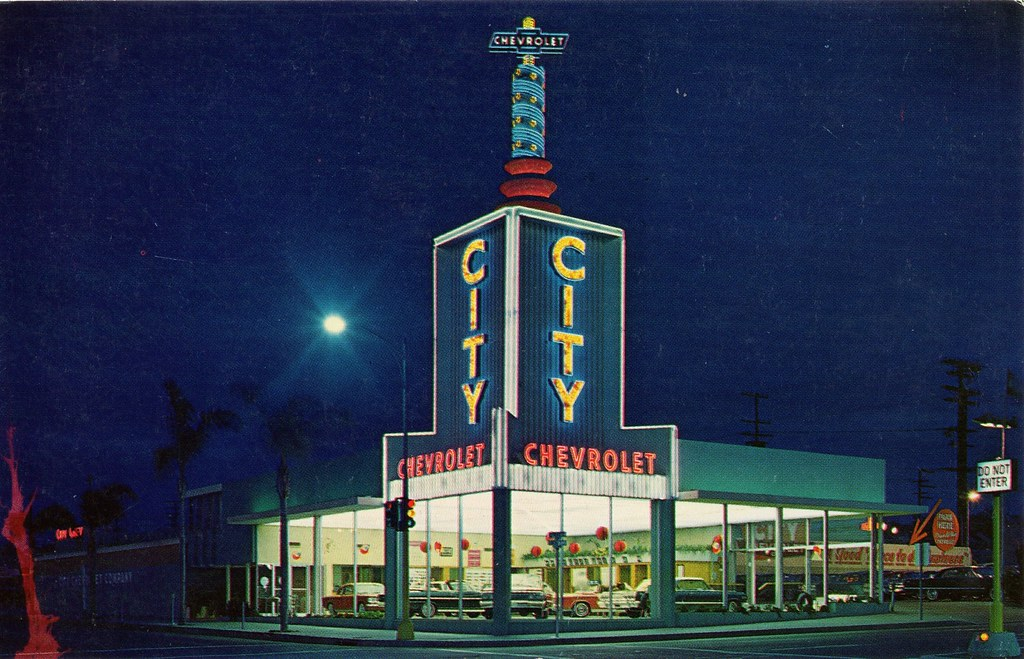 ... City Chevrolet, San Diego CA, 1963 | By Aldenjewell