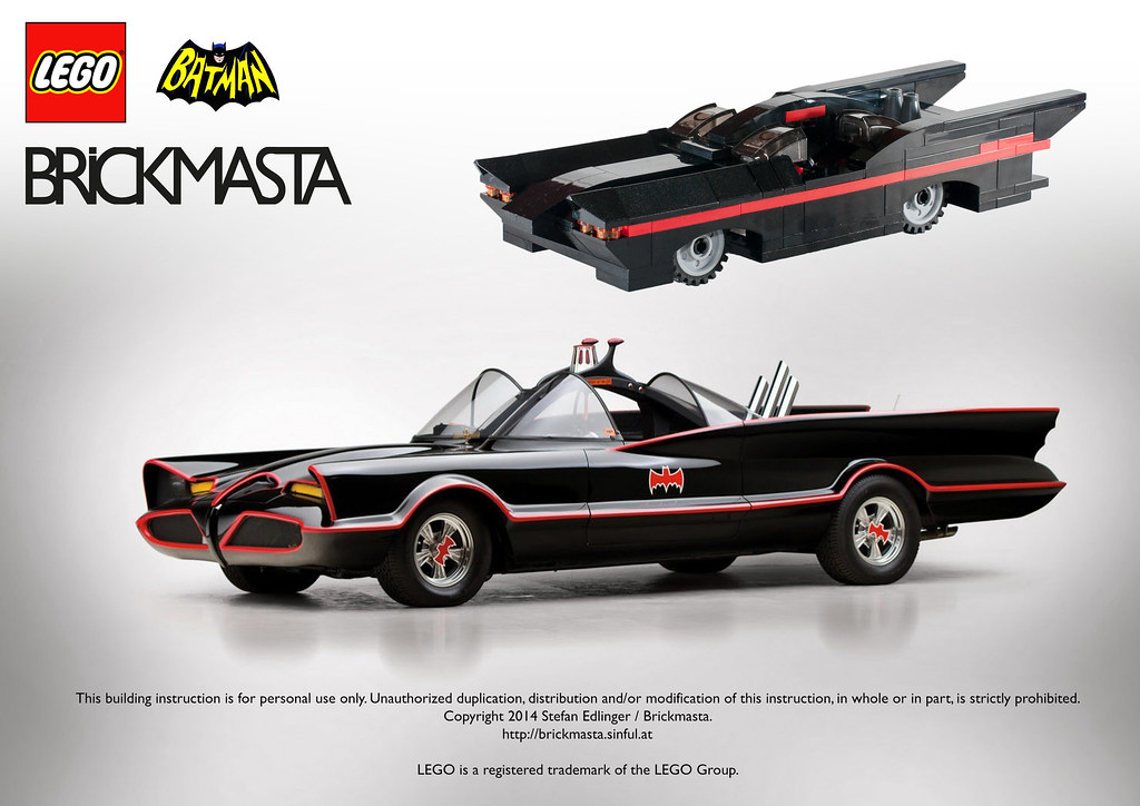 Instructions For 1966 Batmobile Next Instructions Availabl Flickr