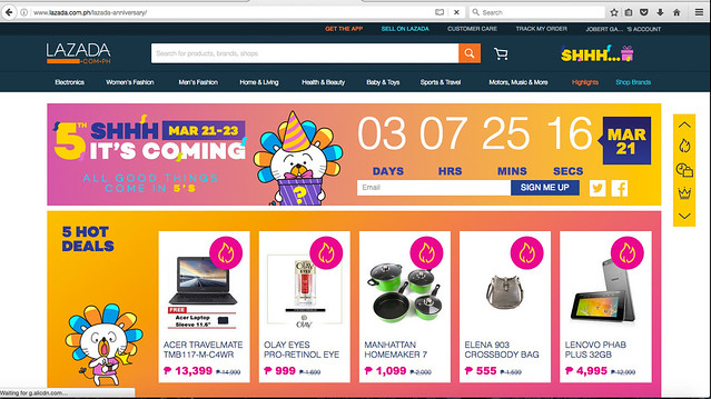 Lazada Big Birthday Sale