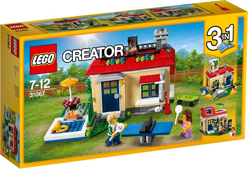 LEGO Creator Estate 2017 - Modular Poolside Holiday (31067)