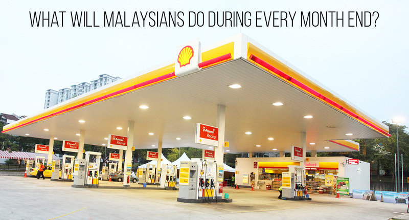 What will Malaysians do during every month end