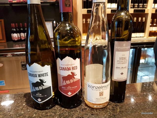 4 Konzelmann wines