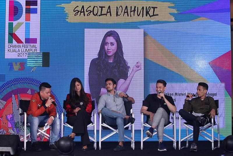 Bengkel DFKL 2017 Hari Pertama Artis Jemputan Sasqia Dahuri, Hafreez Adam & Duta DFKL 2017 - Raja Afiq DFKL