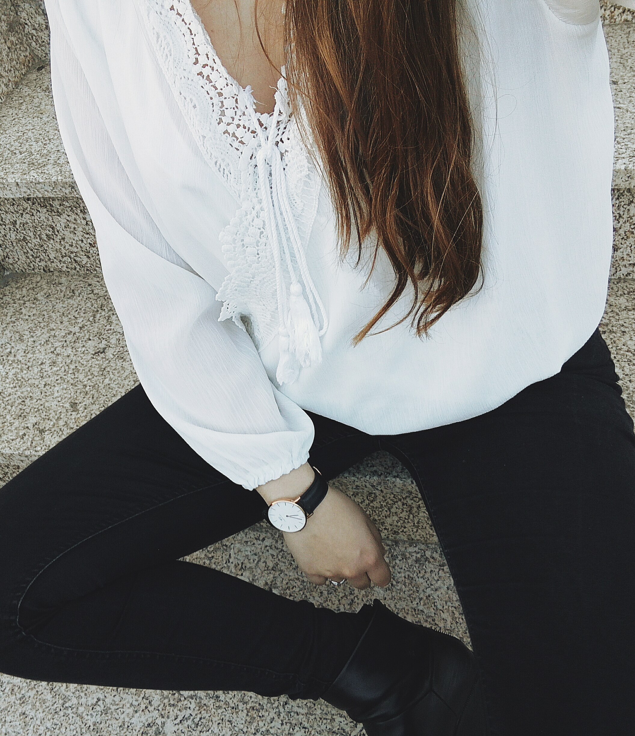 ootd_white_blouse_rosegall_daniel_wellington_watch