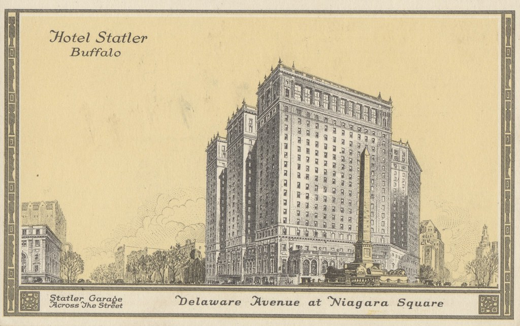 Hotel Statler - Buffalo, New York