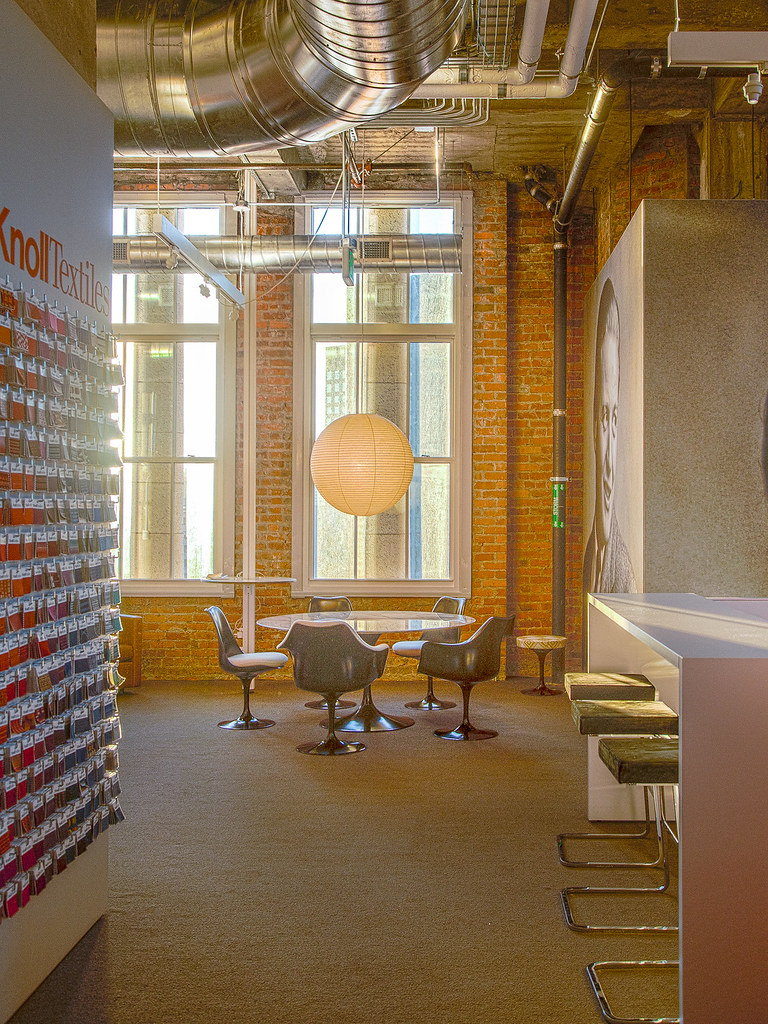 ... Lounge By The Bricks :: #knoll #showroom #furniture #textiles #interior