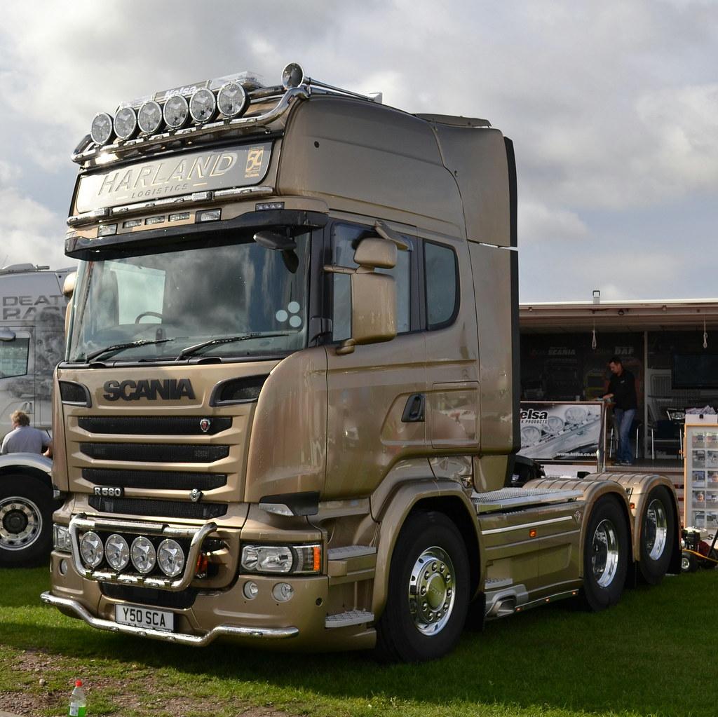 Préférence Harland Logistics - Scania R580 V8 Topline | Y30 SCA | Yorkshire  WY93
