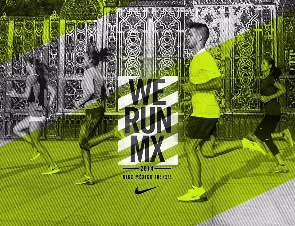 ... Carrera We Run México 2014  85d9ac8cba68d