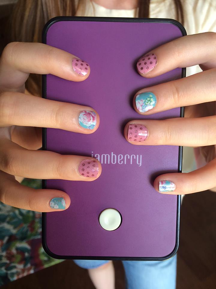 Juniors Little Lady Jamberry Nail Wraps | Beverly Kimball | Flickr