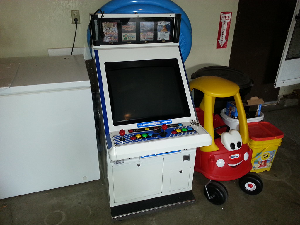 Mvu 4 Neo Geo Candy Cabinet By Xelement5x