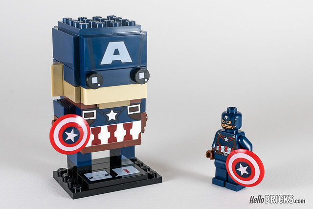 REVIEW LEGO BrickHeadz series 1 Marvel