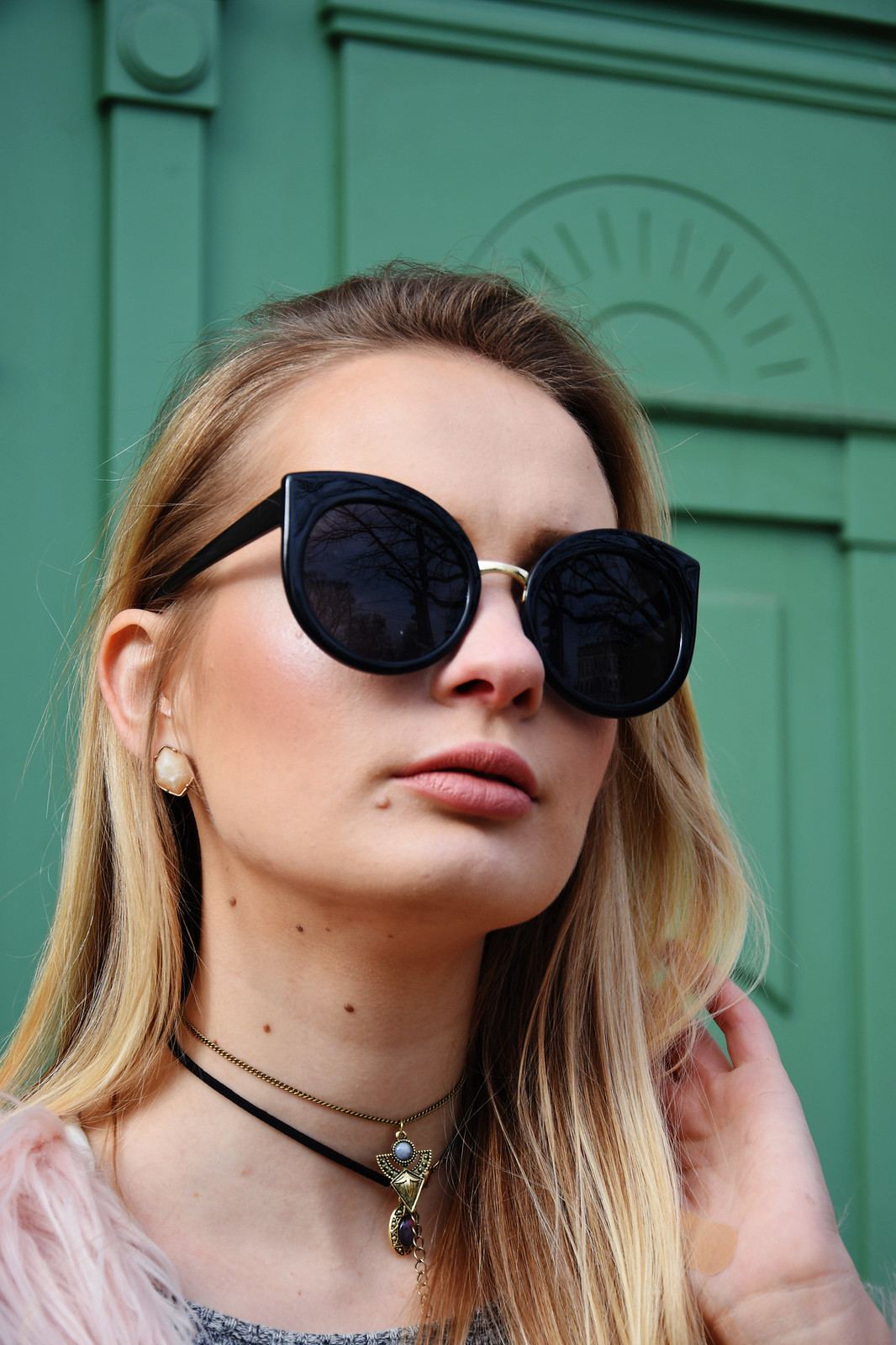 Cateye sunglasses outfit inspiration