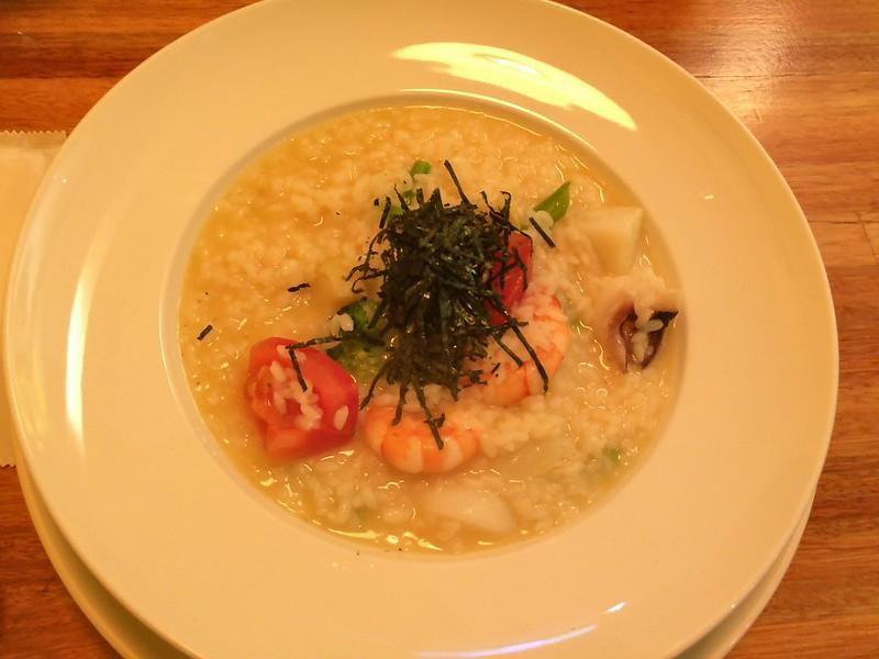 柚子胡椒風味海鮮燉飯