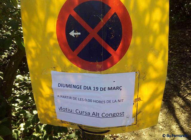 Cursa Alt Congost -01- Señal Prohibido