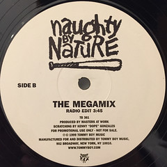 NAUGHTY BY NATURE:MEGAMIX(LABEL SIDE-B)
