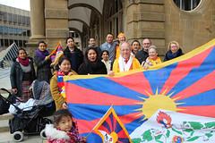 Bielefeld zeigt Flagge für Tibet 2017