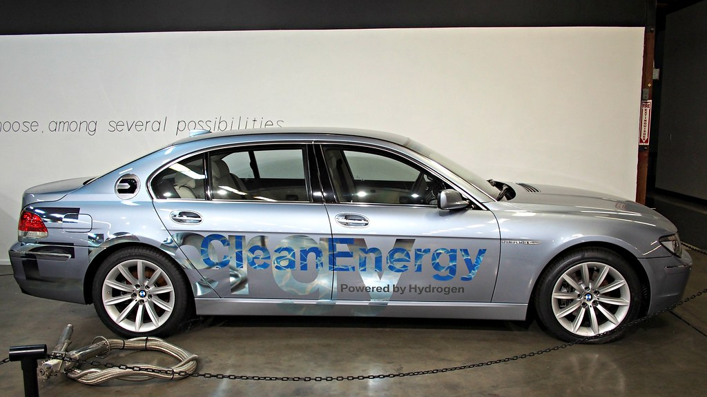 2007 Bmw Hydrogen 7 4 Photographed At The California Autom Flickr